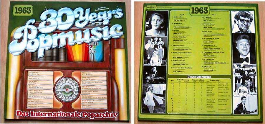Originalaufnahmen 60er-Jahre, Popmusik von 1963