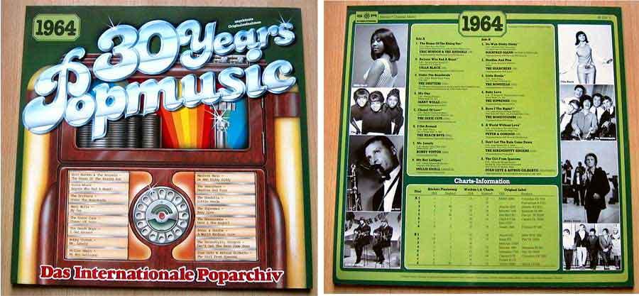 Originalaufnahmen 60er-Jahre, Popmusik von 1964