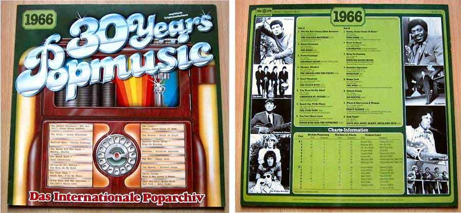 Schallplatten 60er-Jahre, Popmusik von 1966