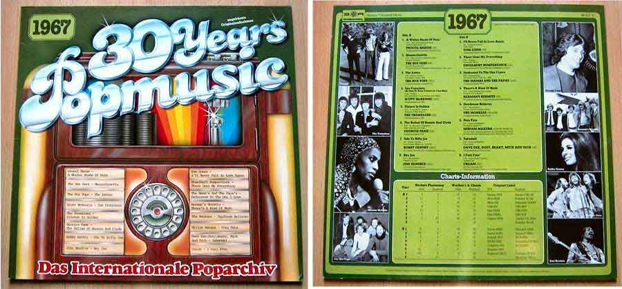 Schallplatten 60er-Jahre, Popmusik von 1967