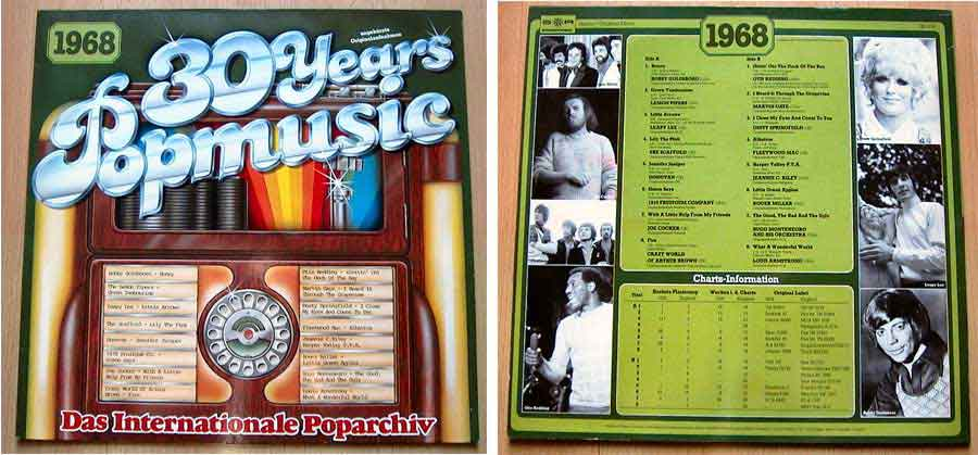 Schallplatten 60er-Jahre, Popmusik von 1968
