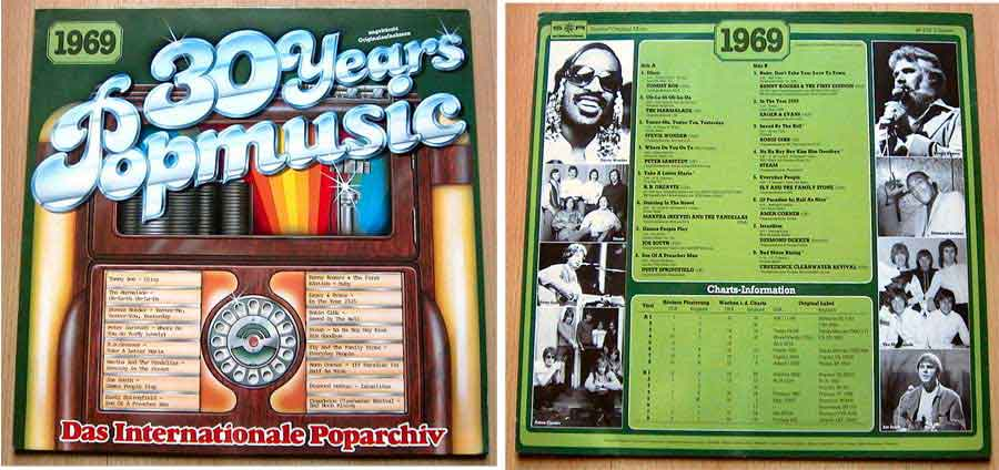 Schallplatten 60er-Jahre, Popmusik von 1969