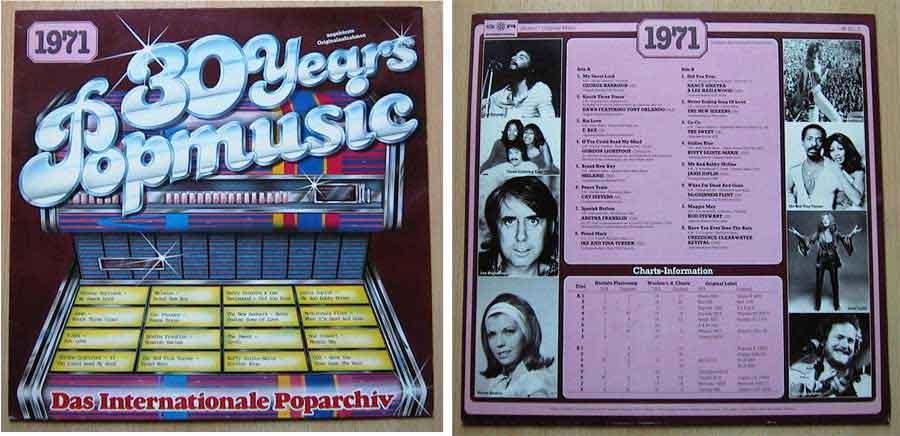 Schallplatten von 1971