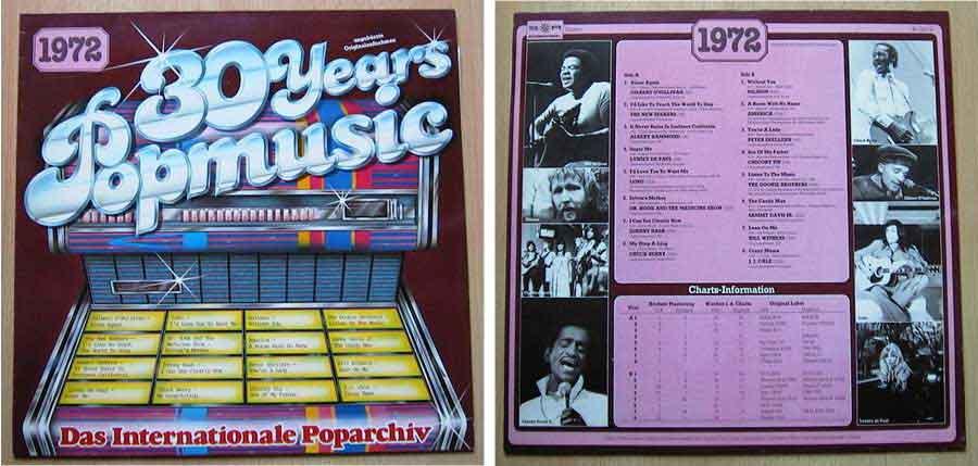 Schallplatten von 1972