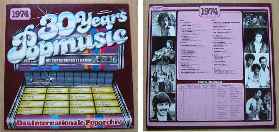 Schallplatten von 1974