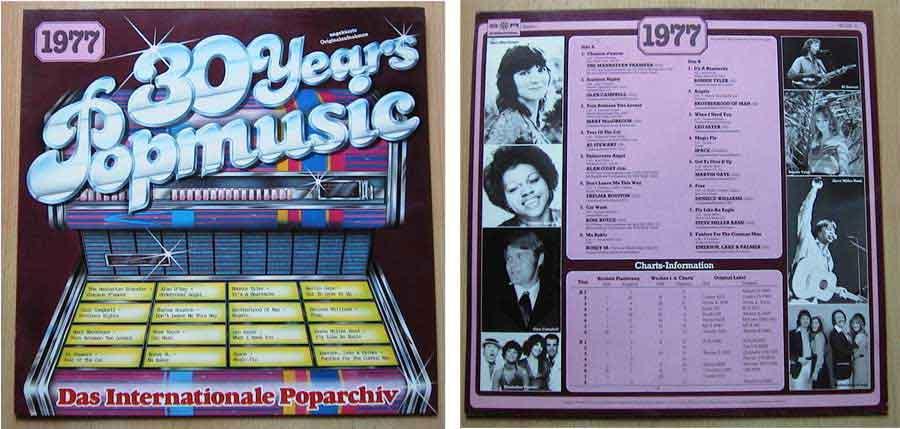 Schallplatten von 1977