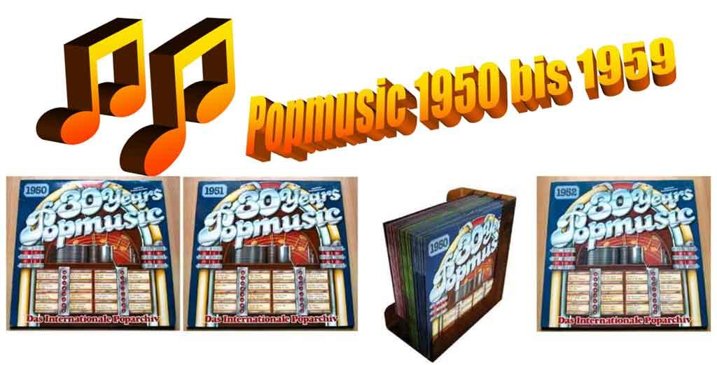 Popmusic Schallplatten Originalaufnahmen