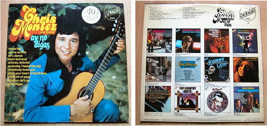 Chris Montes and Raza - Ay No Digas - LP Vinyl von 1975