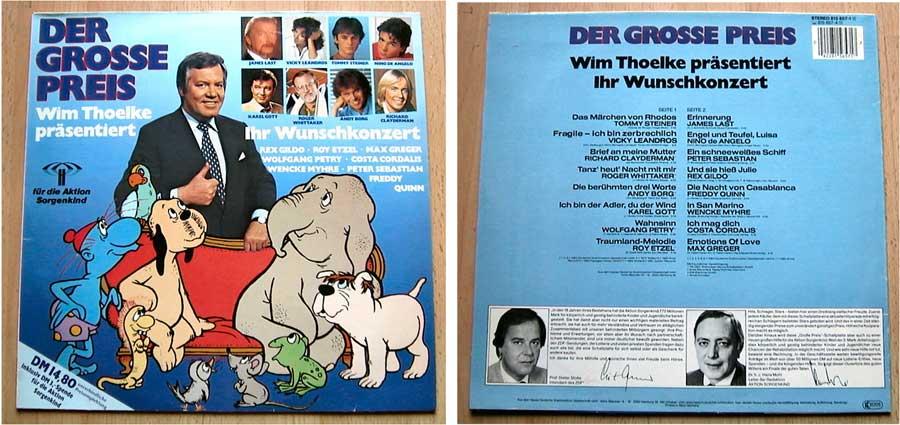 Der Grosse Preis - Wim Thoelke - LP Vinyl von 1983