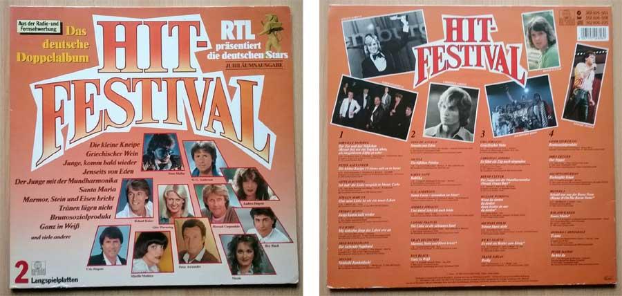 RTL Hit Festival Schallplatte - Kunststoff Schrott ?