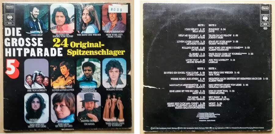 24 Original Spitzenschlager aus der Hitparade