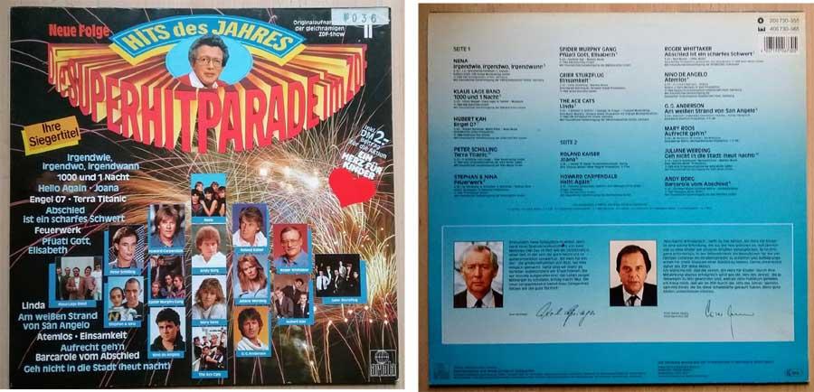 LP mit der Superhitparade aus dem ZDF