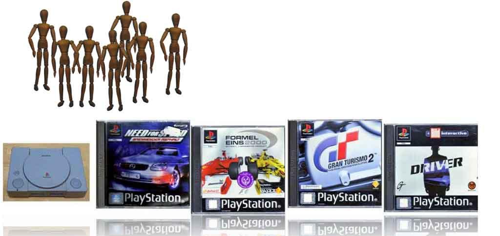 Playstation Spiele Banner