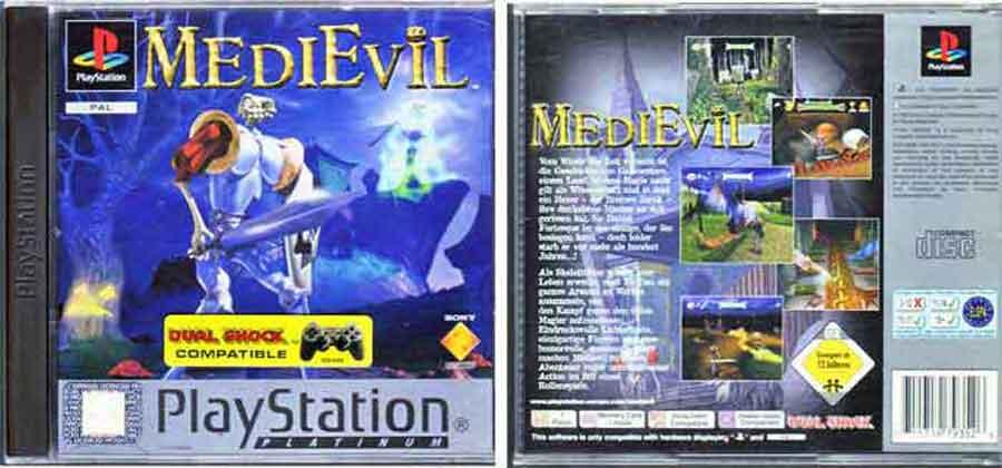 playstation medie evil