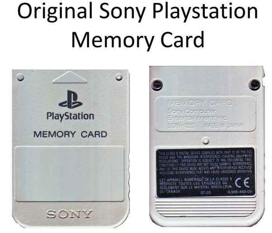 1 MB Playstation Memory-Card gebraucht