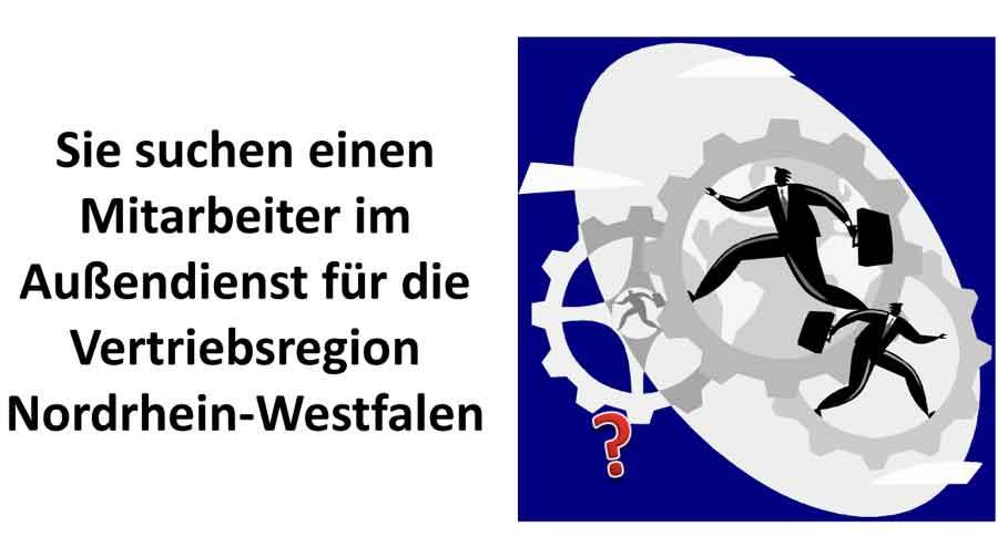 Vertriebsregion Nordrhein Westfalen für die Online-Bewerbung