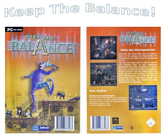 Keep The Balance - Spiel auf CD für Computer