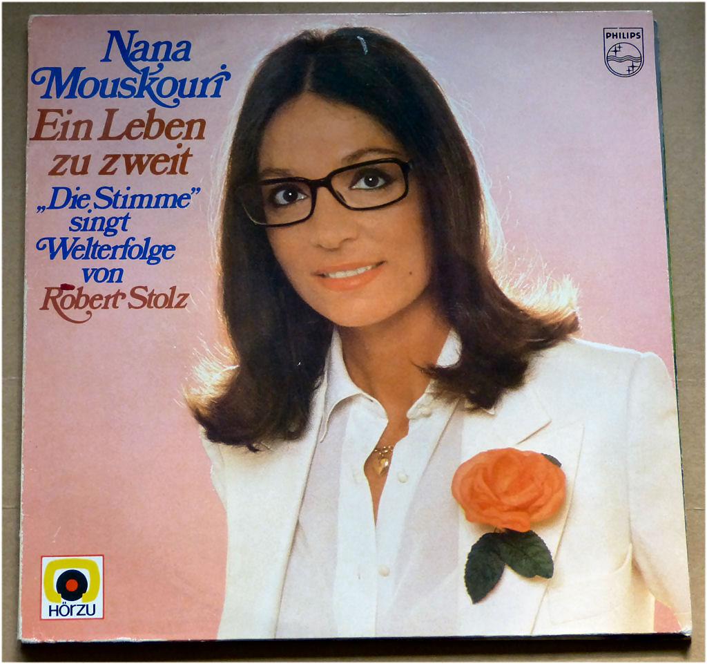 Ruhepol mit Vinyl von Nana Mouskouri