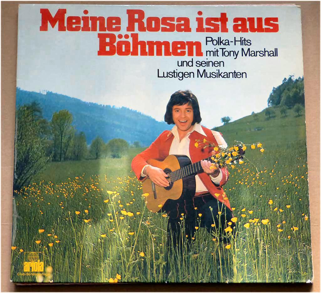 Langspielplatte mit Polka Hits