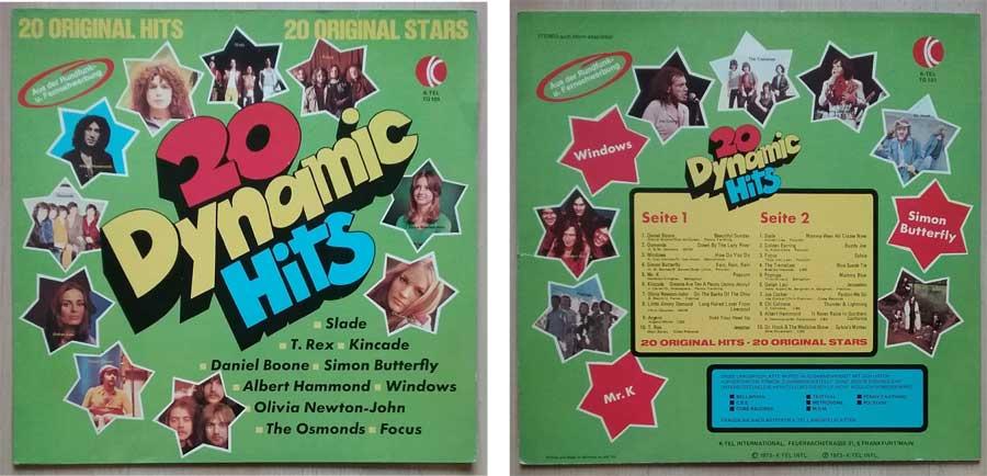 20 Dynamic Hits Schallplatte von 1973