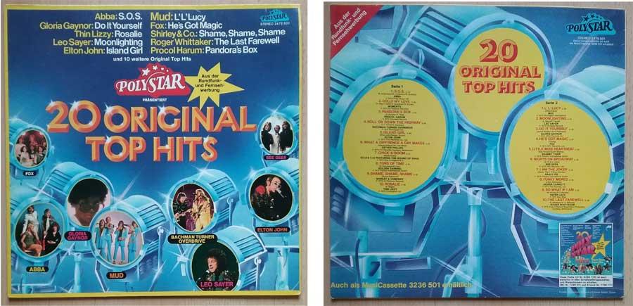 Compilation mit 20 Original Top Hits, Hit-Runner