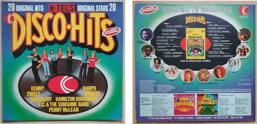 20 Original Stars mit 20 Original Hits, Schallplatte von 1975
