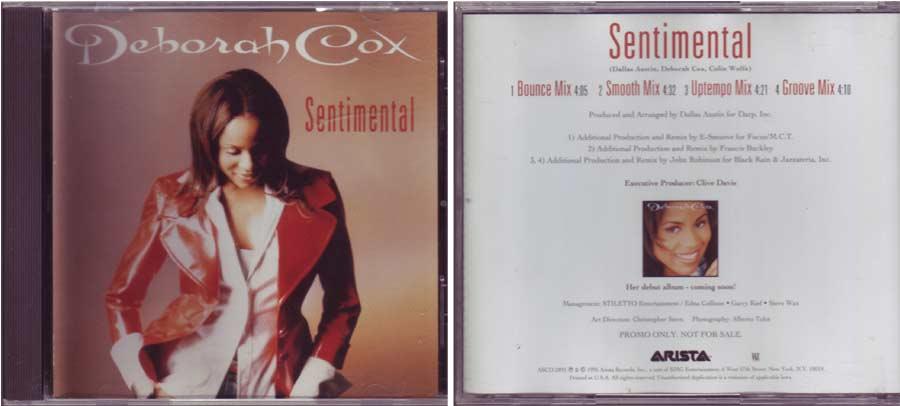 Deborah Cox – Sentimental - CD von 1995