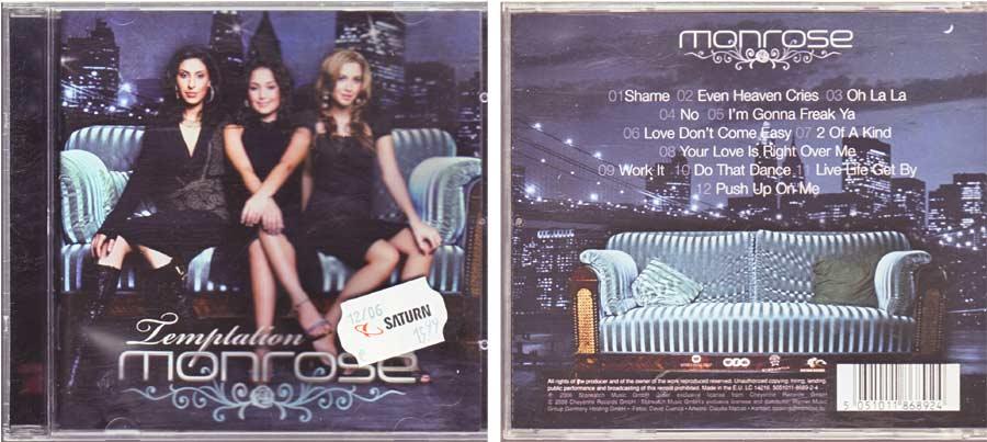 Monrose - Temptation - CD von 2006