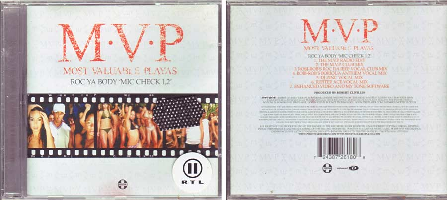 M.V.P. - Most Valuable Playas - CD von 2005
