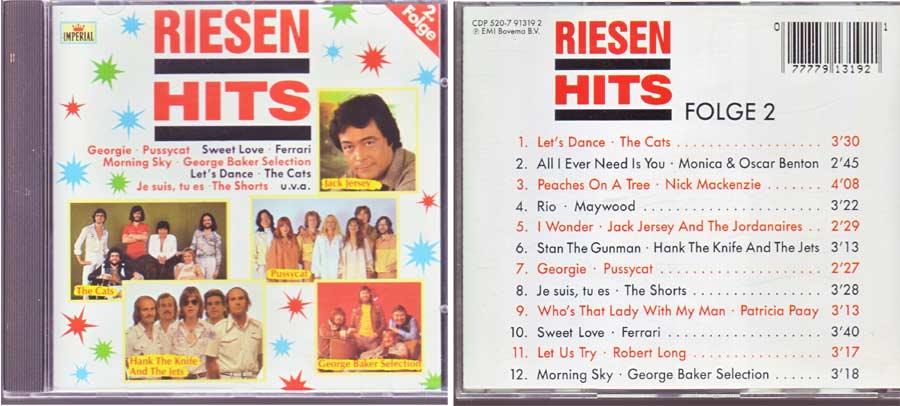 Riesenhits Folge 2 - CD von 1988