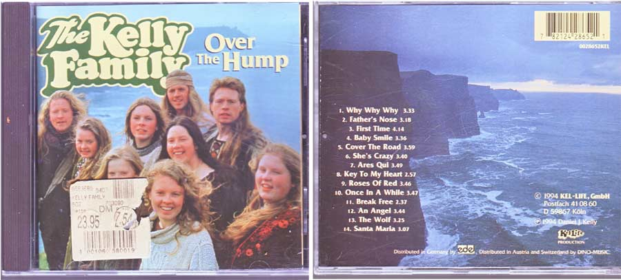 The Kelly Family - Over The Hump - CD von 1994