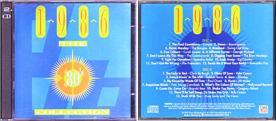 Megahits - the 80er collection