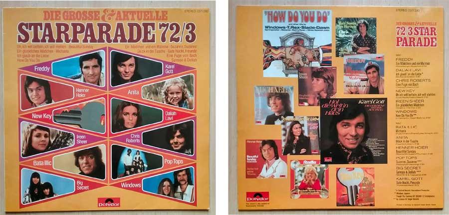 Records die Aktuelle Starparaden von 1972