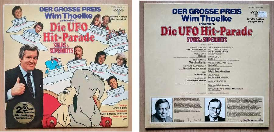 Der grosse Preis mit Wim Thoelke, Musik auf Schallplatte