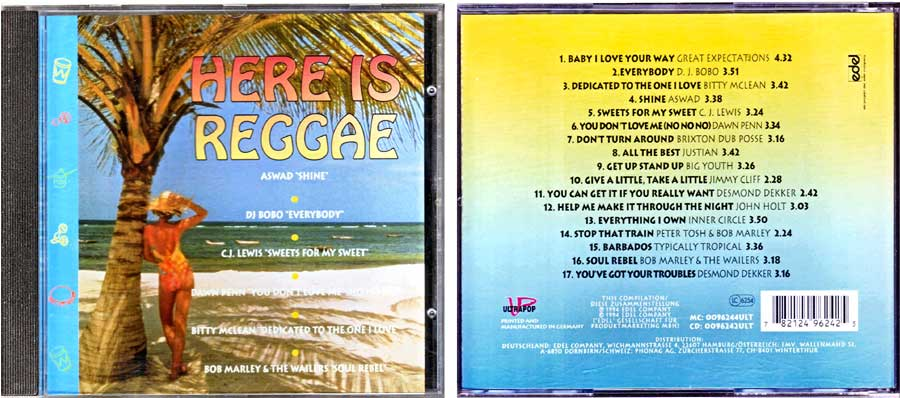 Here Is Reggae auf CD