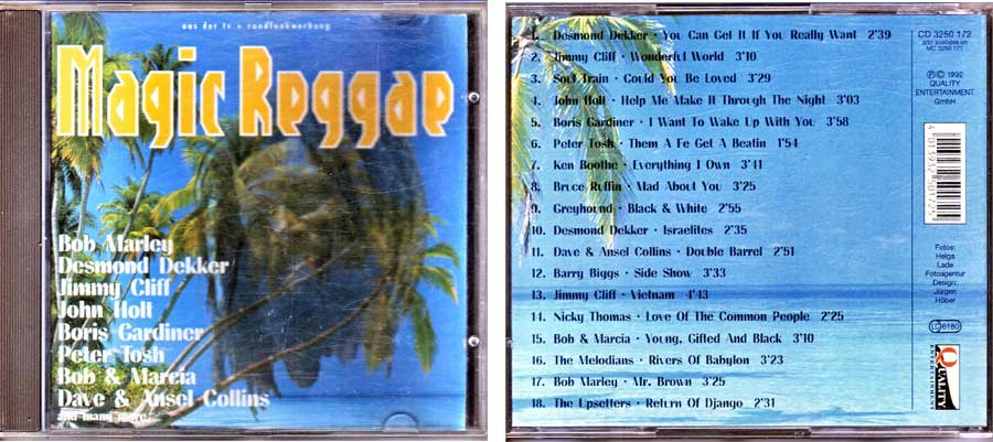 Magic Reggae auf CD