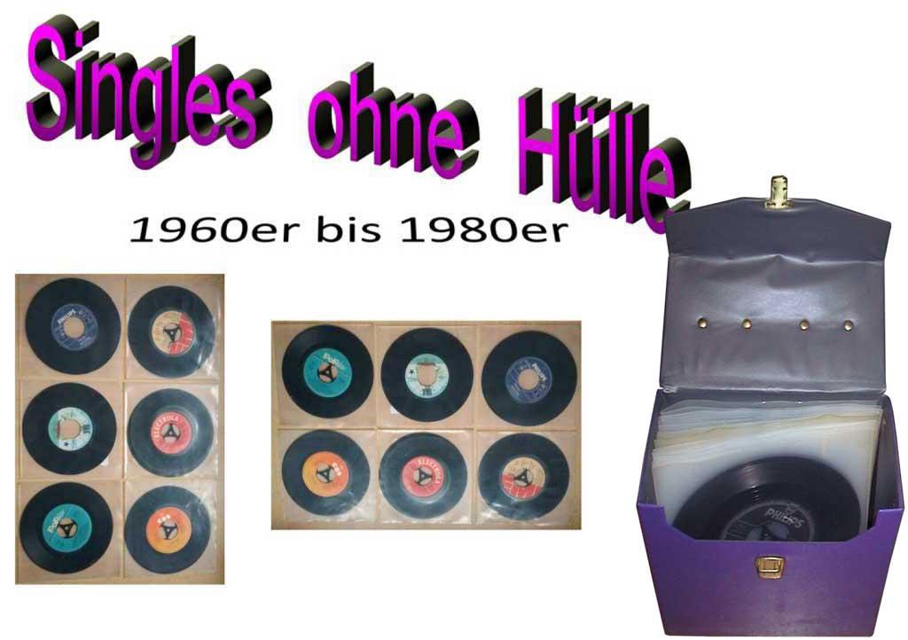 Singles, Vinyl aus der Seeburg Musikbox