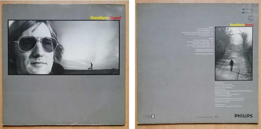 LP Langspielplatte mit Hans Hartz und Sturm
