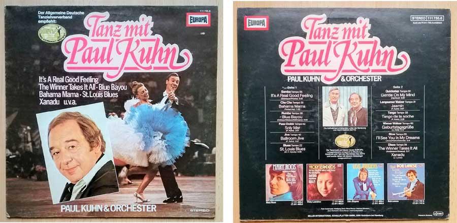 Tanz Schallplatte mit Paul Kuhn
