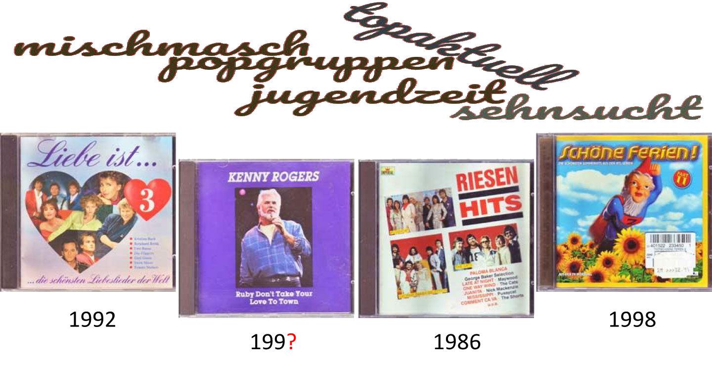 Riesenhits CDs aus unserem Partykeller