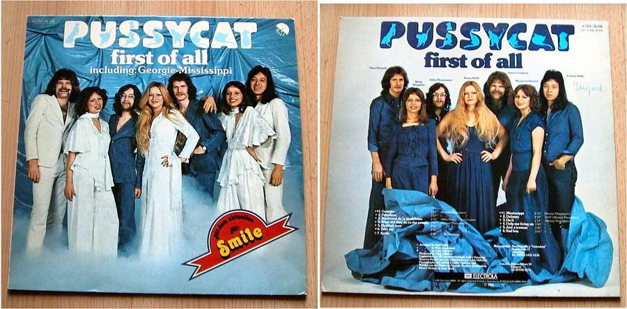 pussycat first of all - Schallplatte