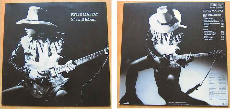 Vinyl, LP, Album von Peter Maffay - Ich Will Leben