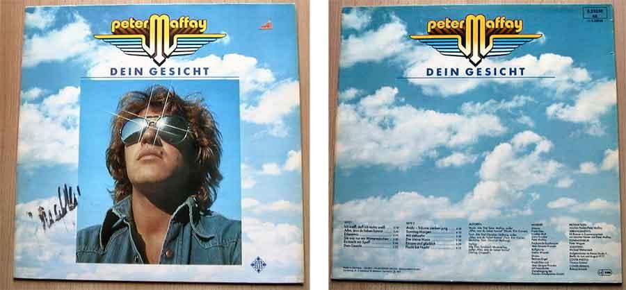 Vinyl, LP, Album von Peter Maffay - Dein Gesicht