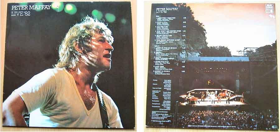 Deutschrock von Peter Maffay - Live '82