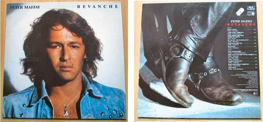 Vinyl, LP, Album von Peter Maffay - Revanche