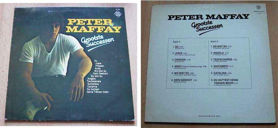 Peter Maffay LP Album zum Tauschen