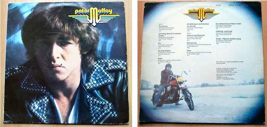 Deutschrock, Vinyl, LP, Album Peter Maffay