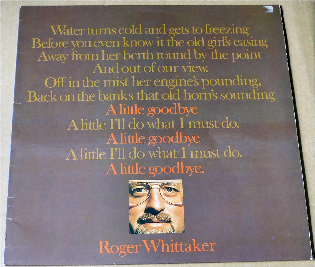 Roger Whittaker - A little goodbye