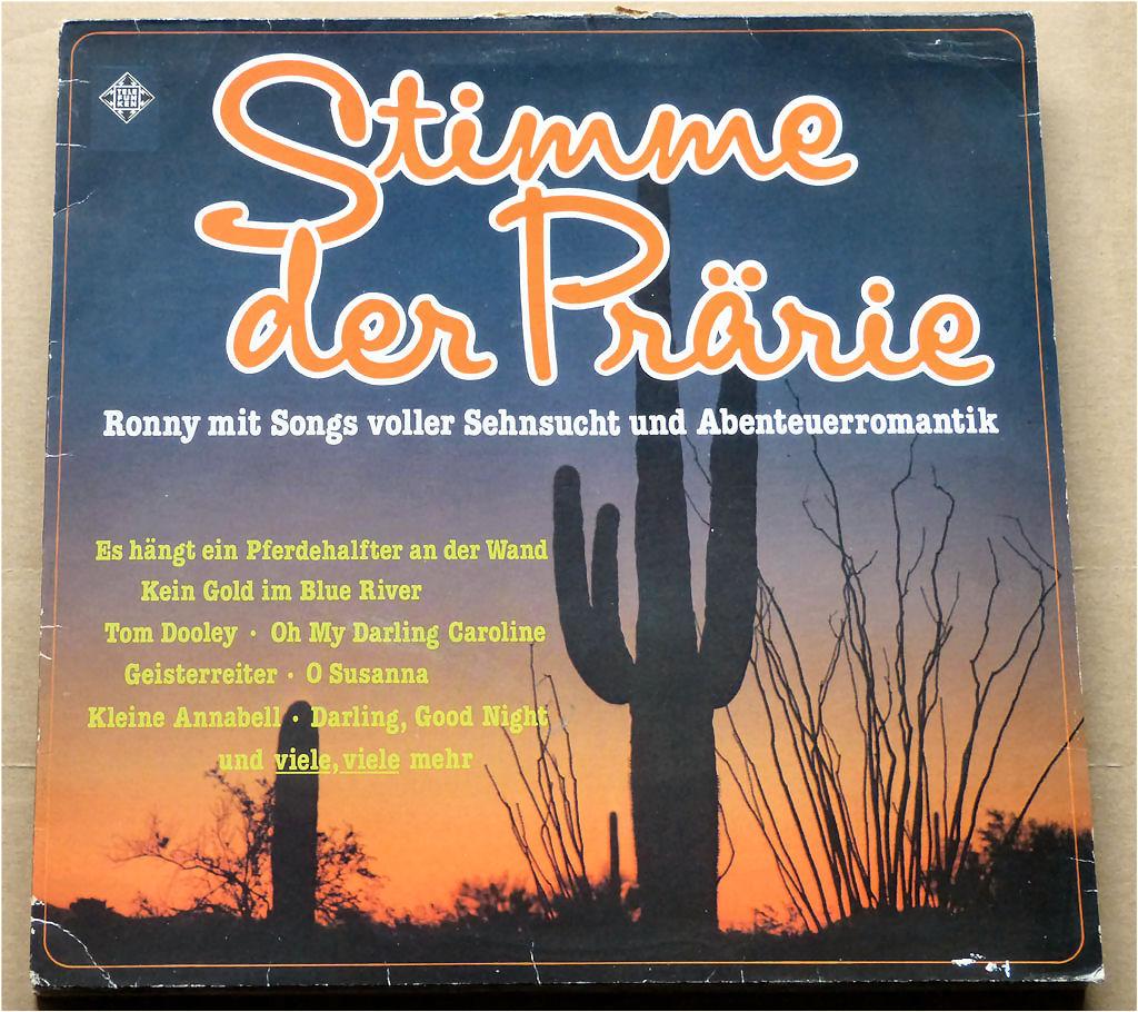 Schallplatte von Ronny - Stimme der Prärie