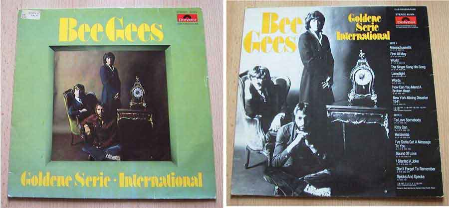 bee gees Schallplattencover
